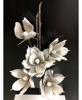 KWIAT MAGNOLIA GREY WHITE