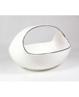 Koszyk Biało-Srebrny