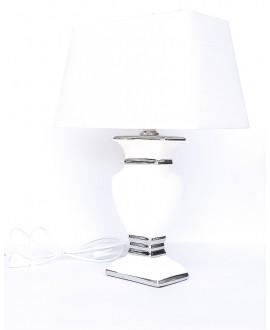 LAMPA KOLOR BIAŁO-SREBRNY