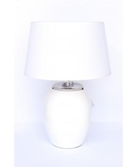 LAMPA BIAŁO-SREBRNA 30