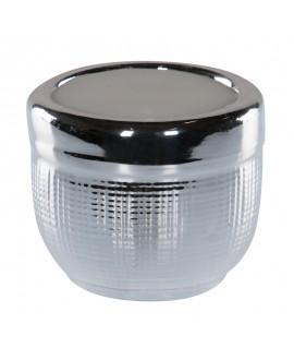 Świeczka w ceramicznym świeczniku