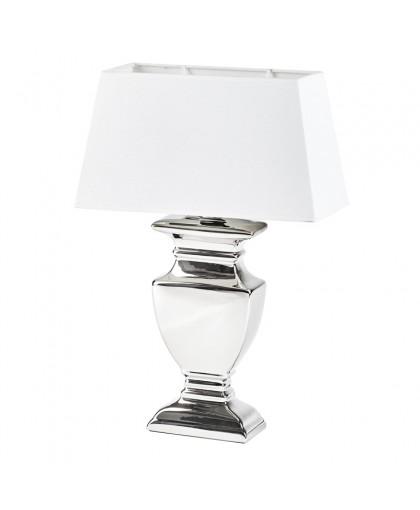 LAMPA W KOLORZE SREBRNYM